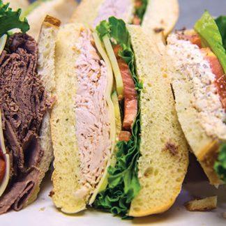 Deli & Gourmet Sandwiches